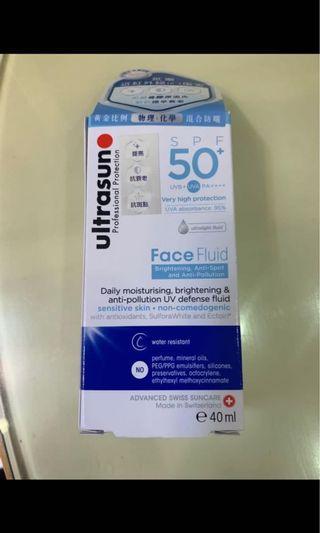 Ultrasun SPF50 Facefluid