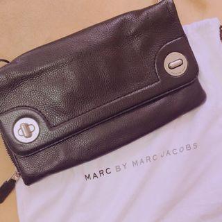 Marc by Marc jacobs 黑色肩背手拿兩用小包