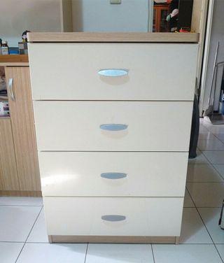 限自取 特力屋北歐四層抽屜收納櫃 衣櫃 置物櫃