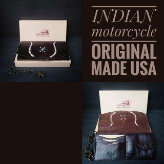 Dompet indian motorcycle made usa