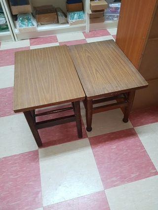 Vintage Side Table x2
