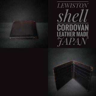 Dompet Lewiston shell cordovan leather