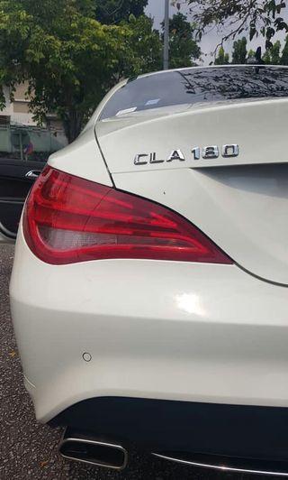 Mercedes Benz 1.6 CLA (2015) unreg,99% new