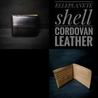 Dompet elleplanete shell cordovan leather