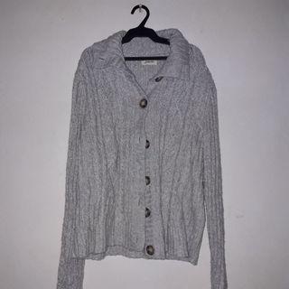 Plus Size Collared Sweater