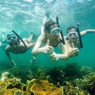 Weekend getaway diving snorkeling
