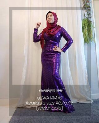 Sequin dinner dress