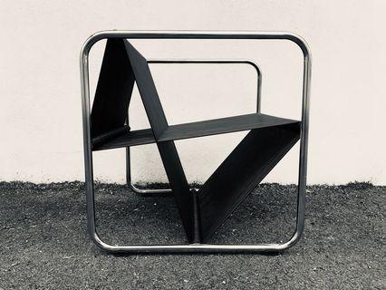 Designer Lounger (Silver Frame)Defect item
