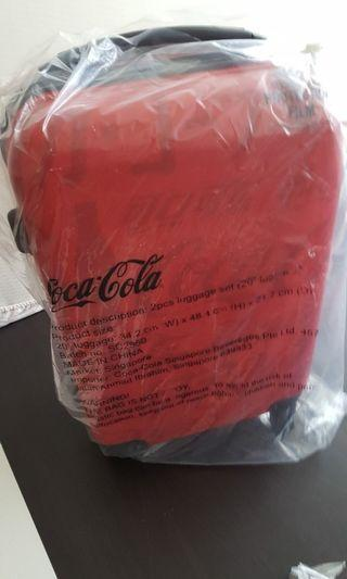 "Limited Edition ""Coca Cola"" Brand Luggage, Cabin Size"