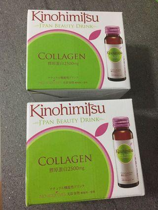 Great Offer!! Kinohimitsu Collagen Drink 6 x 2 boxes