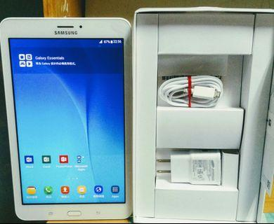 95% New Samsung Tab E 8.0 Callable 可通話 White 白色