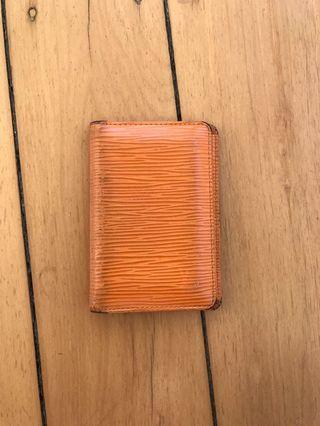 Genuine Louis Vuitton card holder