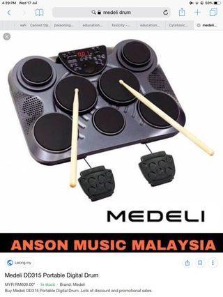 Medeli Portable Digital Drum DD315