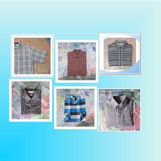 【XIAN雜貨舖】衣櫃翻轉●準備搬家●半買半送★★6件外搭襯衫-長袖與短袖