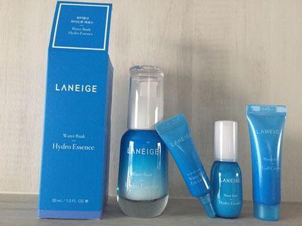 🚚 SALE!!! $25 MAILED!! Laneige Hydro Essence Set (30ml + trial kit 3items)