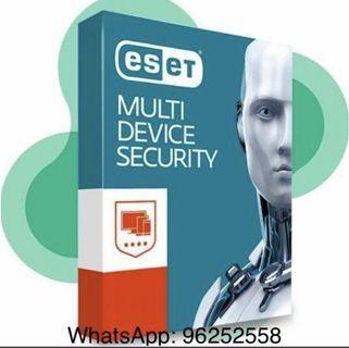 ESET Internet Security Nod32 防毒軟件互聯網安全3年版 另有AntiVirus Mutli device security
