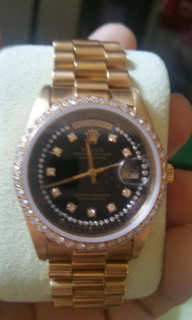 18k Rolex 18238