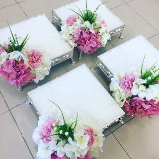 Gubahan hantaran bunga kahwin #SSF