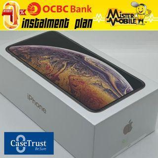 iPhone Xs Max 256 256GB Gold Black Apple New Local