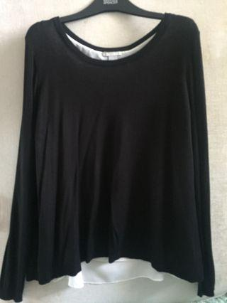 H&M Long Sleeve with attached sleeveless