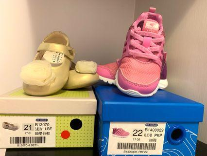 兩對Dr.Kong BB鞋 護足鞋