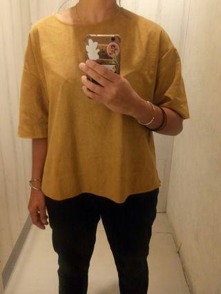 Uniqlo oversized blouse