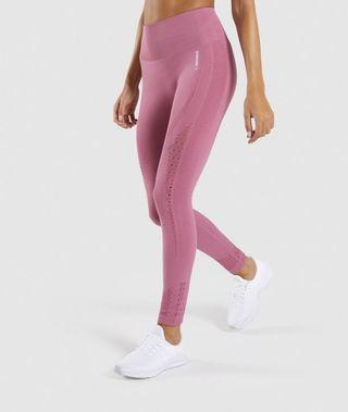 Gymshark Energy Seamless Dusty Pink XS