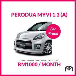 SEWA Perodua Myvi (A)