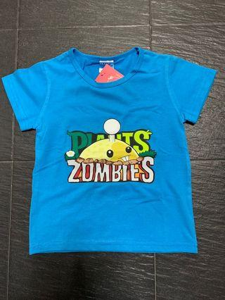🚚 Little PvZ Tee At $6!!!  Suitable for 3-4 yo kiddos