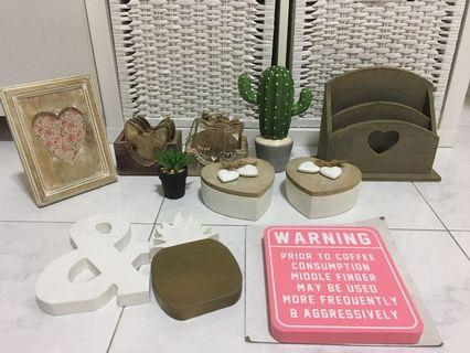 Clearing Some Home Decor Items