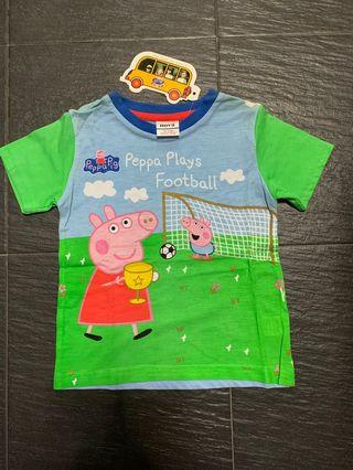 🚚 Little Peppa Pig Tee At $6!!!  Suitable for 1-2 yo kiddos