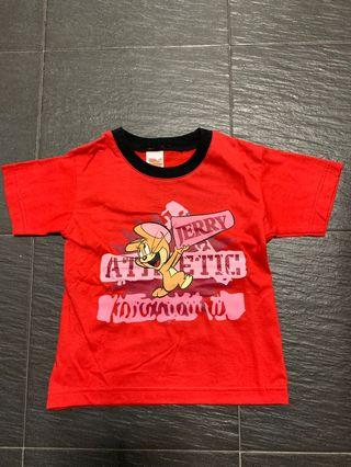 🚚 Tom and Jerry Kid Tee At $6!!!  Suitable for 2-3 yo kiddos