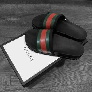 Authentic Gucci web slides for sale