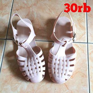 SALE! JELLY SHOES PEACH