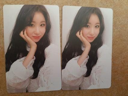 [WTT] IZ*ONE Chaeyeon Photocard