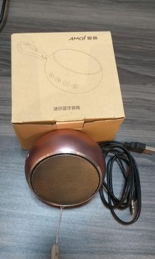 無线蓝牙小便携式音箱附收音机