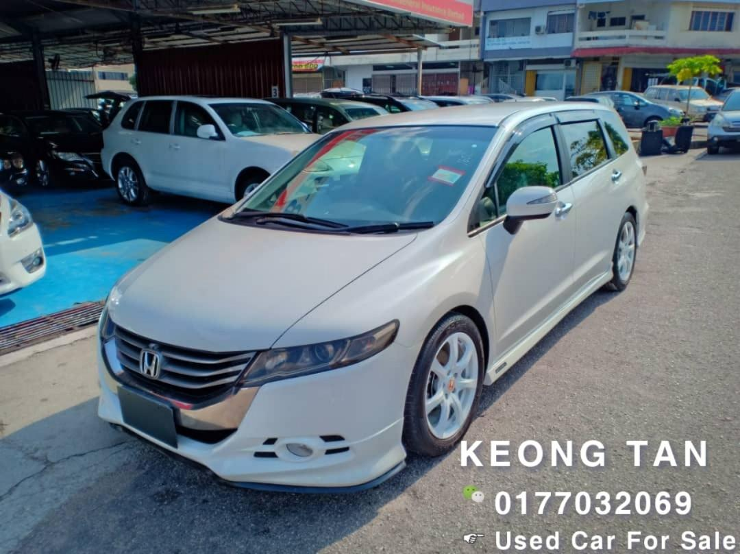 2011TH/Reg2016🚘 HONDA ODYSSEY 2.4AT I-Vtec ABSOLUTE RB3🎉JohorPlate🚘Push Start🎉Cash💰OfferPrice!!🎉 Rm74,300 Only‼Lowest Price InJB 🎉📲 Keong‼🤗