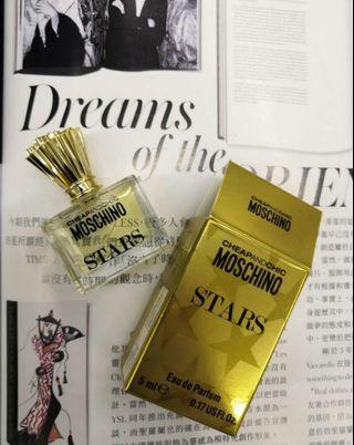 【包平郵】Moschino  STARS 香水 5ml
