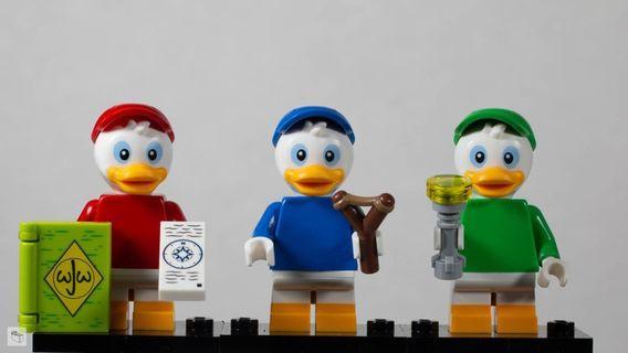 🚚 Lego Disney Minifigures