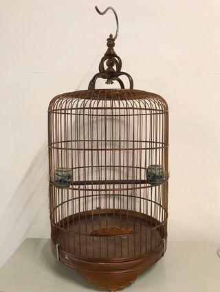 🚚 Canary puteh finch cage