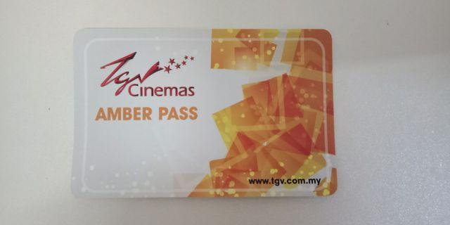 Free 1unit of TGV amber pass if buy RM100  and above exclude postage