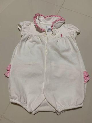 [Preloved] (9M) Baby Ralph Lauren Bodysuits