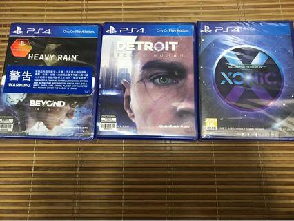 Ps4 Game 3隻$280