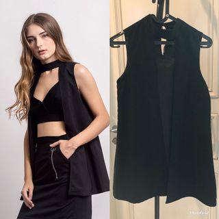 Cloth Inc Black Vest Outerwear