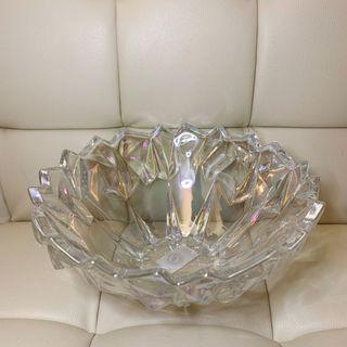 Opalescent Crystal Glass Fruit Bowl Display Basket 水晶玻璃生果盤