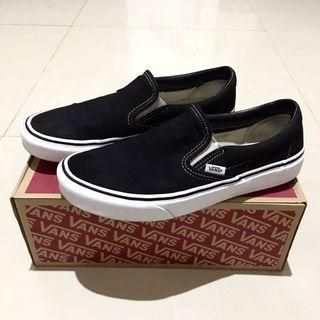 Vans Slip-On/Slipon Classic Black/White BW (Original 100%)