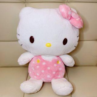 Hello Kitty 公仔 Soft Toy Plush Pink Sanrio Japan - Big Large Size
