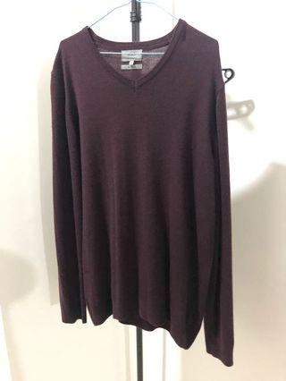 Marks & Spencer Sweatshirt ~ Maroon Colour