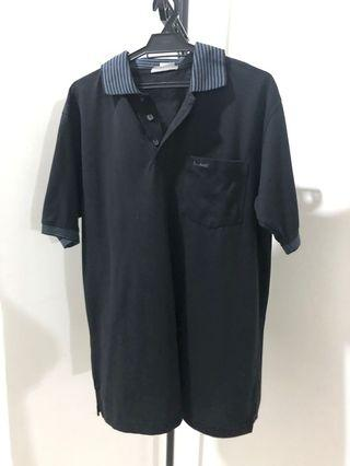 John Master Collar Shirt ~ Black Colour