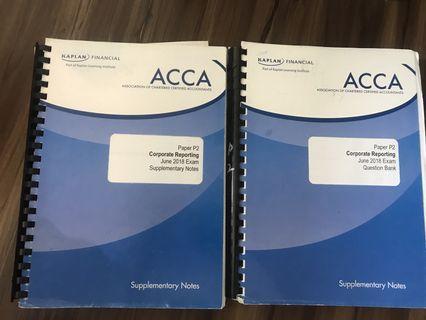🚚 Kaplan ACCA P2 Notes